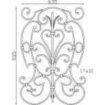 Élément décoratif 15 201