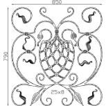 Élément décoratif 15 301