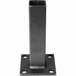 Platine de fixation pour poteau carré de 30 mm réf. PLAT20
