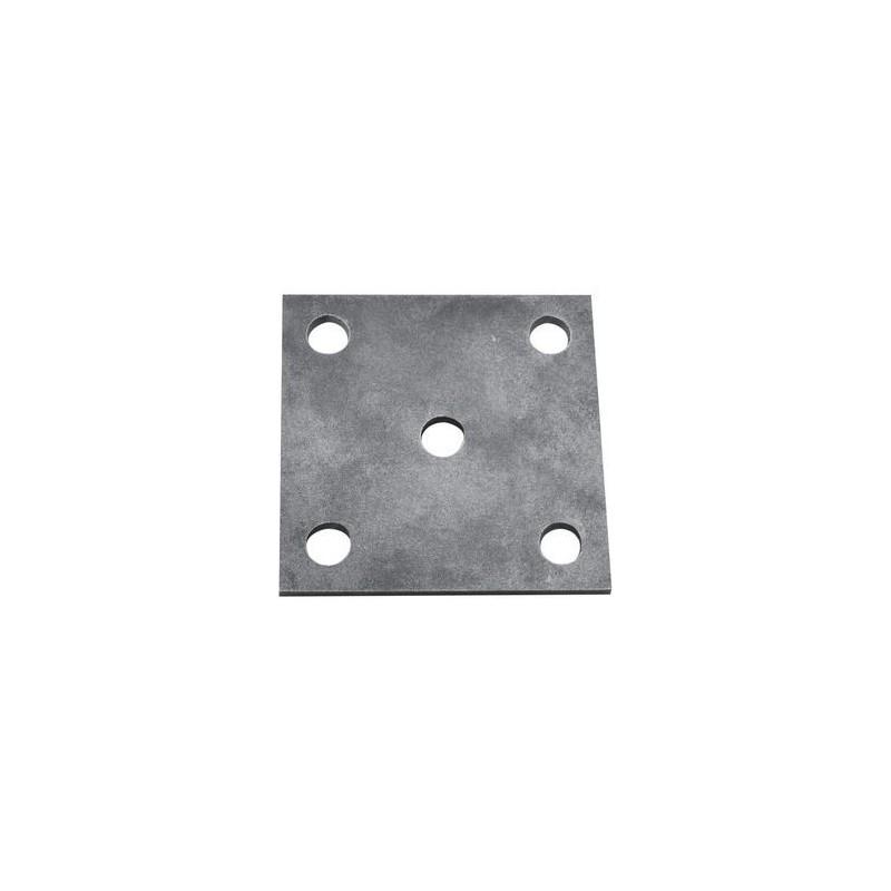Platine carré 100x100 Réf. 16 109