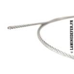 Rouleau de câble en inox 316 de Ø5 mm 7x7 fils