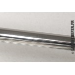 Finition poli miroir - tube rond de 1 mètre