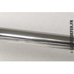 Main courante en tube inox poli miroir de 3000 mm