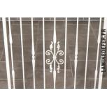 Remplissage en fer forgé avec barreau double motif réf. 573/4