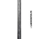 Barreau en rond martelé de 14 mm réf. 1187/4