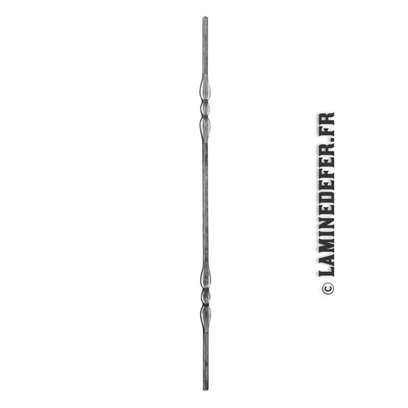 Barreau à double motif - 1 mètre - réf. 134/10