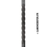 réf. 70/D/2 - Torsade du carré plein de 14 mm