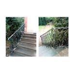 Rambarde d'escaliers en fer forgé - élément réf. 1046/1
