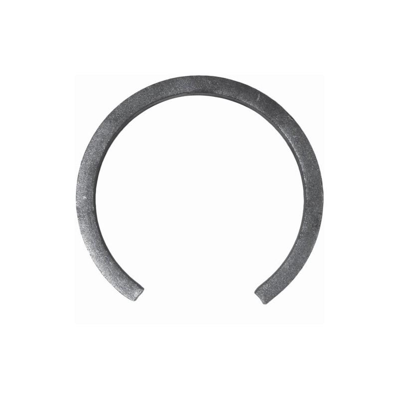 Cercle ouvert Ø 110 mm en plat 16x8 mm réf. 14 191