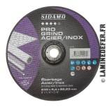 Disque à ébarber acier-inox 230x6.4