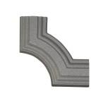 Décor d'angle en aluminium mouluré 45x10 réf. 20451