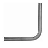 Angle droit pour main courante acier 40x8 ref.180131