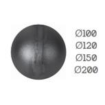 Diamètres disponibles boules creuses